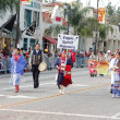 PASADENA, CA-USA - FEBRUARY 18: Eagle Spirit Dancers at Chinese Lunar New Year Parade on February 18 2007 in Pasadena California - Stockfoto