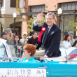 PASADENA, CA-USA - FEBRUARY 18: Pasadena Mayor Bill Bogaard waves to the crowd at Chinese Lunar New Year Parade on February 18 2007 in Pasadena California — Stock Photo