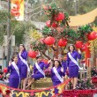 PASADENA, CA-USA - FEBRUARY 18: Miss Nisei Queen and Court float at Chinese Lunar New Year Parade on February 18 2007 in Pasadena California — Stock Photo #11615539