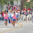 PASADENA, CA-USA - FEBRUARY 18: Santa Ana Winds Orange County Marching Band at Chinese Lunar New Year Parade on February 18 2007 in Pasadena California — Stock Photo