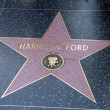 Harrison Ford hollywood walk of fame — Stock Photo #11615642