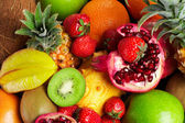 Mixed fruits — Foto Stock