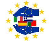European Help — Stock Photo