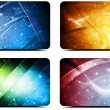 Abstract backgrounds collection — Stockvektor  #11376749