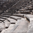 Stock Photo: Ruins of ancient theater. Seats only close up.