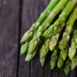 Bunch of fresh green asparagus spears — Stock Photo #11545698