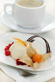 Panacotta. Classic italian dessert — Stock Photo