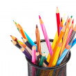 Colour pencils — Stock Photo