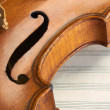 Stock Photo: Violin background