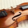 Violin background — Stockfoto