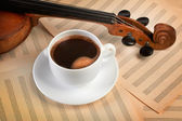 Violin background — Foto de Stock