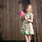 Smile girl outdoor — Stock Photo #11163528