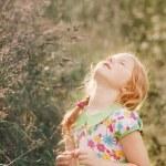 Smile girl outdoor — Stock Photo #11163541