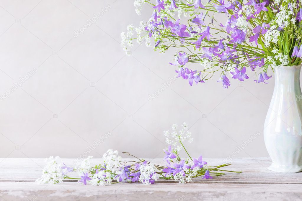Bouquet on white background  Stock Photo #11163576