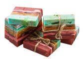 Natuurlijke handgemaakte zeep — Stockfoto