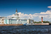 View of the landmarks of St. Petersburg — Stock Photo