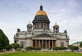 Saint Isaac cathedral in St Petersburg — Stock Photo