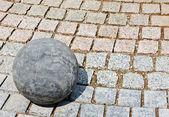 Bola de pedra de granito — Fotografia Stock