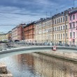 Channel of Griboedov in Saint-Petersburg — Stock Photo