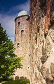 Eski kale kule — Stok fotoğraf
