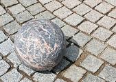 Žulové kamenné koule — Stock fotografie