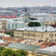 View over the rooftops of St. Petersburg — Stock Photo
