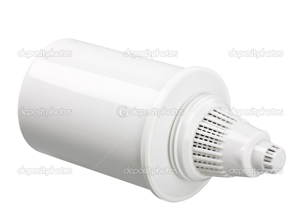 Water Filter cartridge on white background — Stock Photo #11900049