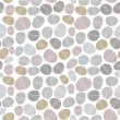 Seamless stone pattern on white background - Image vectorielle