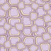 Seamless pattern with hand drawn violet squares — Stock Vector