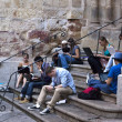 Stock Photo: Salamanca Hot Spot