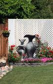 Rock flower garden. — Stock Photo