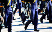 Marching band. — Stockfoto