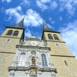 Luzerne - Hofkirche cathedral, Switzerland — Stock Photo
