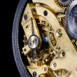 Mechanism of old watch — Stock Photo #11109708