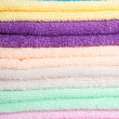 The combined color towels — Stock Photo #11267381