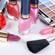 Stock Photo: Face make-up set