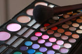 Bright eye shadows — Foto de Stock
