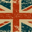 UK dirty flag. A UK flag with a texture for you. — Stock Vector #11690091