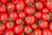 Cibo sano, sfondo. pomodoro — Foto Stock
