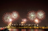 Firework celebration Redentore (Venice, Italy) — ストック写真