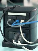 Torreta de potencia para la oficina — Foto de Stock