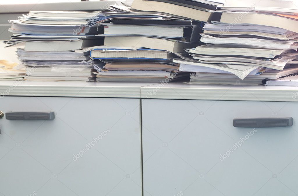 Office mess — Stock Photo #11805705