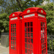 London Red Phone Boxes — Stock Photo