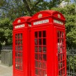 London Red Phone Boxes — Stock Photo #10783588
