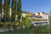 スロベニアの首都リュブリャーナ — ストック写真