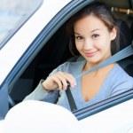 Always fasten your seatbelt — Stock Photo