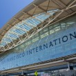 Exterior of San Francisco International airport — Stock Photo