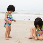 Beach fun — Stock Photo