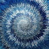 Abstract blue textured background. — Stock Photo