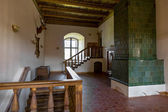 Interior of Medieval Castle in Mir (Belarus). — Foto de Stock